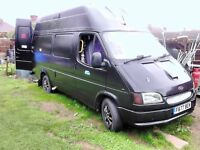 AUTOMATIC FORD TRANSIT 4 BERTH CAMPERVAN DOUBLE AND BUNK BEDS