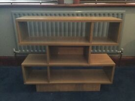 Shelf unit - ideal for DVD's CD's books, ornaments. Etc.