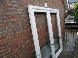 Patio. French Doors, top of the range. Double glazed surplus to requirements