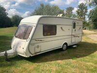 1997 Vanmaster 2 berth caravan, very good condition, no damp, ready to go