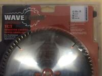 Waveform Trend 250mm TCT sawblade. For aluminium and plastic
