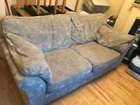 Grey 2 seat sofa + free delivery