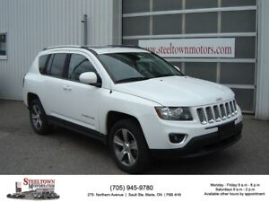 2016 Jeep Compass 4x4 High Altitude|H/Leather|Sunroof