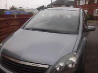 Vauxhall zafira 7 seater petrol