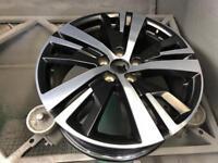 Peugeot 3008 5 triple spoke alloy wheel 7.5 eta