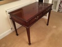 Table/Writing desk. Lovely finish and well made. Side table included.