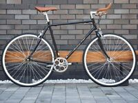 Hackney Club single speed fixed gear fixie road bike/ bicycles + 1year warranty & free service qqq