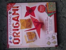 Origami binder
