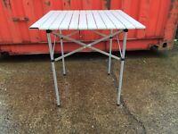 Camping,picnic,caravaning fold up table