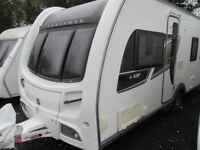 Coachman VIP 545/4 Fixed Island Bed 4 Berth Touring Caravan 2013