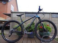 "2013 Cube Reaction Carbon PRO 29er Hardtail Mountain XC Bike 17"" Medium Frame 10 Speed"