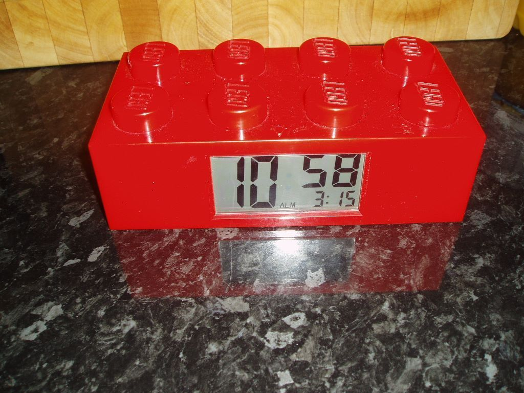 Lego Brick Alarm Clock In Hanham Bristol Gumtree