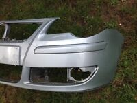 Polo front bumper (05-09) also spare wheel.