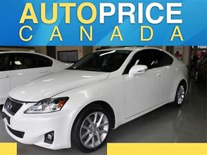2013 Lexus IS 250 Base MOONROOF|NAVI|LEATHER|AWD