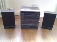 Murphy hi-fi unit andspeakers