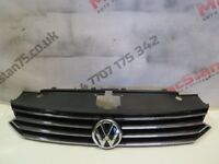 VW PASSAT B8 FRONT GRILL GENUINE PART XENON VERSION 2015-ON 3G0 853 653