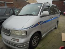 Nissan Primastar MPV Automatic, In Silver, 1997 P reg, Only One Former Owner, Last Owner From 2008