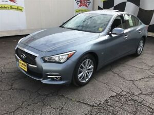 2014 Infiniti Q50 Premium, Auto, Navigation, Leather, Sunroof, A