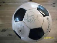 Fußball aus 70er Jahre mit Autogrammen Rheinland-Pfalz - Jünkerath Vorschau