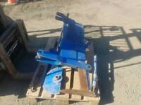 Tractor three point linkage mole plough