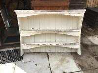 Shabby chick kitchen wall unit