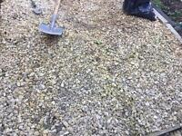 Cotswolds chippings gravel - free to collect