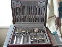 Viners Princess Canteen of Cutlery 44 piece Stainless Steel