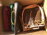 Joblot of new & nearly new handbags / purses / laptop bags