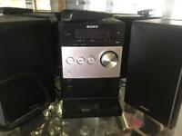 Sony stereo cd player radio and iPod docking station