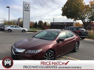 2015 Acura TLX AWD TECHNOLOGY PACKAGE METALIC RED