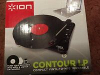 ION Vinyl to MP3 Turntable