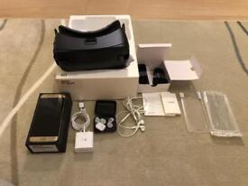 SAMSUNG GALAXY S7 EDGE GOLD 32gb UNLOCKED + SAMSUNG GEAR VR EDITION 2