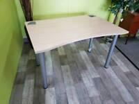 Light Wood Office Desk - Can Deliver For £19