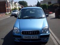 2001 HYUNDAI AMICA GSI 40000 MILES SERVICE HISTORY MOTED IN LOVELY CONDITION