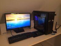GAMING PC! Ultra fast NVidia 770 Gaming Edition i5 2400k @3.2 GHz 8GB RAM 1Tb HDD Windows 10 Pro!