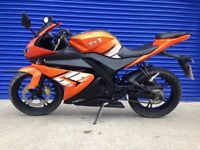 2017 GEN MOTO GENETA XRZ 125 SPORTS BIKE , VERY LOW MILES 380 , CLEAN TIDY BIKE PX WELCOME