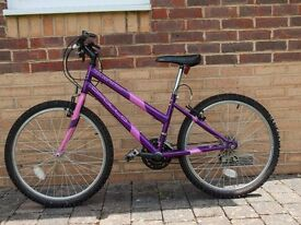 Ladies/Girls bike (24 inches) with 15 gears (shimano)