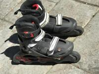 Pair of Oxelo In Line Skates - Size 36-38
