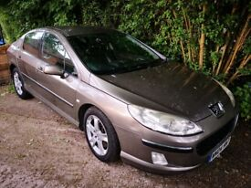 Peugeot 407 2.2 SE Exclusive 2004 12month MOT/cambelt changed