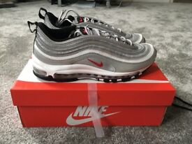 Nike Air max 97 OG QS silver bullet uk size 9 brand new in box