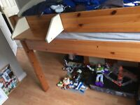 Kids Cabin Bed & 2 matching cabinets