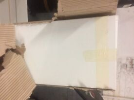 Kitchen Units - New In Packaging - White Wood Grain