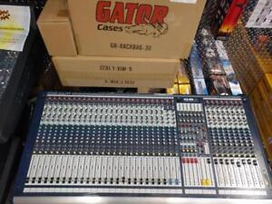 SOUNDCRAFT GB4 32-CHANNEL MIXER, USED **RARE ITEM, BEST PRICE IN CANADA GUARANTEED**