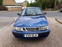 SAAB 9-3. 5 DOORS HATCHBACK 2.0 PETROL. MANUAL .