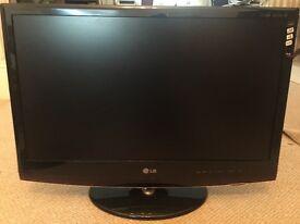 27' LG flat screen TV