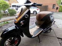 50cc scooter for sale like new