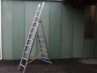 Zarges Combination Ladder - 3 x 8 rungs