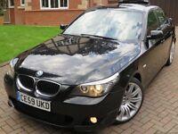 2009 BMW 520 M SPORT BUSINESS EDITION AUTO 59 REG BLACK