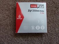 iomega Zip Disks - 6 x 250MB Disks for sale