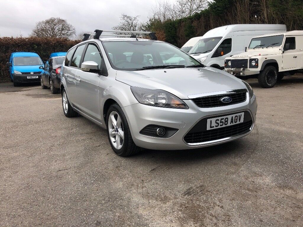 2008 Ford Focus Zetec 1.6 TD 109 Manual 130k miles with full service  history, Long